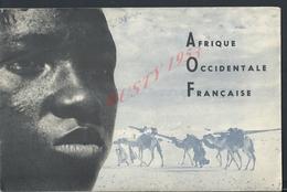 TYPE LIVRE REVUE DE 28 PAGES AFRIQUE OCCIDENTALE FRANÇAISE ILLUSTRÉE TOUT NE SERA PAS SCANNER : - Histoire