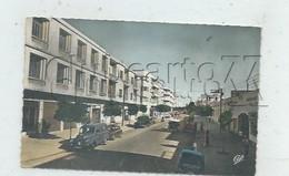 Fès Ou Fèz (Maroc) : Le Garage Et Perspective Du Boulevard Chefchaoum En 1960 (animé) PF. - Fez (Fès)