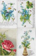 AK 0242  Blumen - Konvolut Von 4 Karten Ab 1905 - Blumen