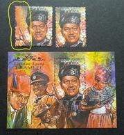 Malaysia P. Ramlee Artist Supreme Famous People 1999 (stamp Pair) MNH *error *perf Shift *rare - Malaysia (1964-...)