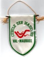 Fanion Luxe écussons En Tissu Cercle Des Nageurs Val-maubuee Sport Natation - Publicité