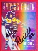 HC Verva Kristian Reichel    Signed - Trading Cards