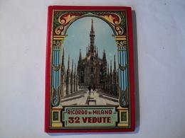 VIEUX DEPLIANT CARTONNE DE MILAN. ANNEES 30. FRATT SCROCCHI. 32 VUES - Tourism