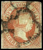Ed. 0 8 - 2 Reales Naranja. Precioso Ejemplar Por Sus Buenos Márgenes Y Color Fresco, Pese ínfimos Puntos Claros - 1850-68 Koninkrijk: Isabella II