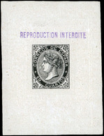 Año 1867 Falso Sperati. 19 Cuartos. Márgenes Grandes. Al Dorso Marca. Precioso. Escaso - Oblitérés