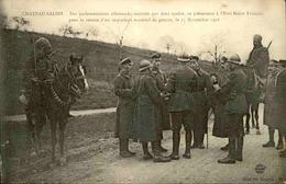 MILITARIA - Carte Postale - Officiers Allemands Pour Remise D Important Stock De Matériels En 1918 - L 29721 - Guerre 1914-18