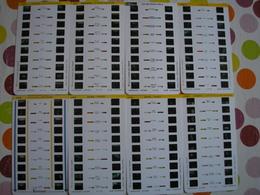 Lot De 15 Cartes Stéréoscopiques à 10 Vues Dont 1 à 8 Vues Principalement Les Alpes - 2 Photos - Diapositives