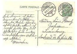 15 Cts 1923 ECHTERNACH > To Professeur Heurtz Boulevard De La Foire 14 (546) - Entiers Postaux