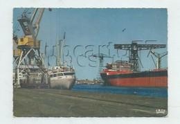 Saint-Nazaire (44) : Les Cargots Dans Le Port En 1975 (animé) GF. - Saint Nazaire