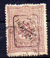 Sello Nº 8 Timbres Pour Journaux  Turquia - 1858-1921 Imperio Otomano