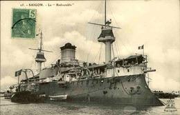 MILITARIA - Carte Postale - Le Redoutable à Saïgon - L 29723 - Guerre