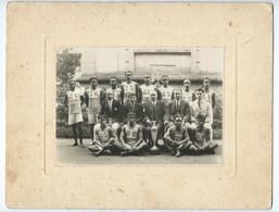 PHOTO équipe Sportive  LE MYRE De VILERS  MADAGASCAR  1927 ( Dim : 26cm /20 Cm ) - Sporten