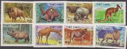 Vietnam 1982 Anumals Set MNH - Vietnam