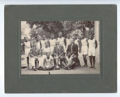 PHOTO équipe Athletisme  ECOLE  LE MYRE De VILERS  MADAGASCAR  1928 ( Dim : 25cm /20 Cm ) - Sporten