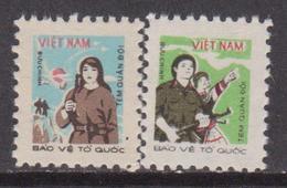 Vietnam 1982 Arms Militare Woman Set MNH - Vietnam