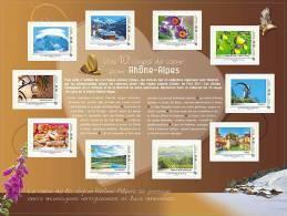 France 2012 - Collector - Rhône-Alpes Comme J'aime 2012 Mnh - Francia