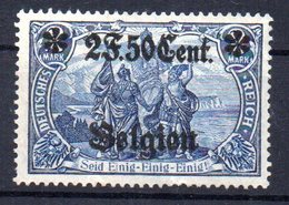 Sello Nº 24 Belgica Ocupacion Alemana - Zone Belge