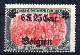 Sello Nº 25  Belgica Ocupacion Alemana - Zone Belge