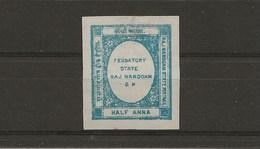 RAJ NANDGAM (1892) . ETAT VASSAL INDIEN - (HALF ANNA) - Nandgaon