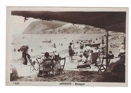CARTOLINA  CARTE POSTALE  LEVANTO  Spiaggia - Fotografia