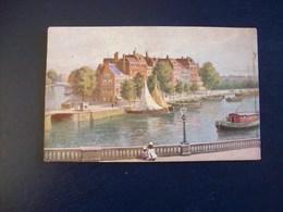 Carte Postale De Dijon (21): Publicité Pour Chamagne André, Spécialité De Literie, Rue Musette à Dijon - Publicité