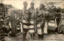 A.O.F. - Carte Postale - Habitants Des Lagunes - L 29731 - Africa