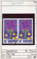 Singapur - Singapore - Michel 161 Im Paar / Pair - Oo Oblit. Used Gebruikt - Singapur (1959-...)
