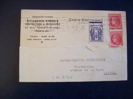 Carte Postale Verick-Stiassnie - Constructeurs De Microscopes, Boulevard Blanqui, Paris (1946) - Publicité