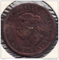 CANADA LOT MONNAIES 4 COINS: 1 CENT 1895 / 1921 / 1940 + 5 CENTS 1933 - Canada