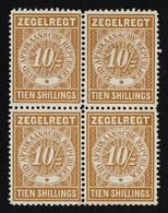 TRANSVAAL 10/- REVENUE BLOCK - South Africa (...-1961)