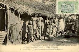 COTE D 'IVOIRE - Carte Postale - Lagune - Préparation Du Fautou - L 29734 - Ivory Coast