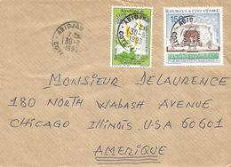 Cote D'Ivoire 1993 Abidjan Medicinal Plant Senna Alata Cemetry Monument Cover - Geneeskrachtige Planten