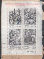 Spain 2005 La Mancha M/s Used On Paper (m/s Is Not Perfect !!!) (42829) - Blokken & Velletjes