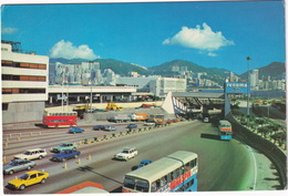 Hong Kong: ALFA ROMEO ALFASUD SPRINT, PEUGEOT 305 BREAK, FORD TAUNUS TC2, MAZDA 818 WAGON, DOUBLE DECK BUS - Tunnel - Toerisme
