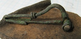 Ancient Roman Fibula 2-4 AD - Archaeology
