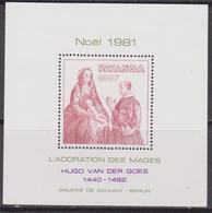 Rwanda 1981 - Christmas Natale Noel Navidad Sheet MNH - Natale