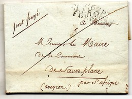 P.62 P. CLERMONT-FERRAND,L.A.C. Du 10/12/1717. - Marcophilie (Lettres)