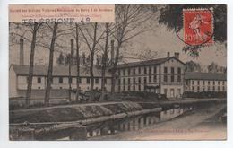 CHARENTON DU CHER (18) - LES TUILERIES - AU DOS CACHET SOCIETE DES TUILERIES MECANIQUES DU BERRY ET DE BORDEAUX  VIERZON - France