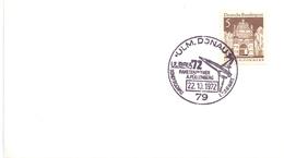 DONAU  GERMANY ROCKET PIONEER POST CARD    (MAGG190041) - UNESCO