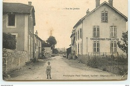 CHANTRAINE - Rue Des Jardins - Chantraine