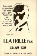 POLITIQUE - Carte Postale - Poincaré - Carte à Système - L 29747 - Satirical