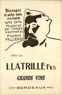 POLITIQUE - Carte Postale - Fallières - Carte à Système - L 29748 - Satirical