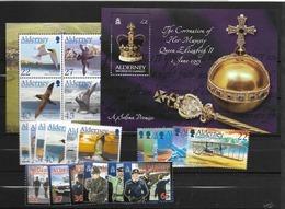2003 MNH Alderney  Year Complete, Postfris - Alderney