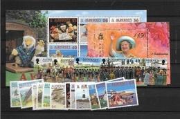 2000 MNH Alderney  Year Complete, Postfris - Alderney