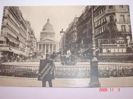 """C.P.A.- Publicité """"Saint Raphaël - Quinquina"""" - Paris - Le Panthéon - 1910 - SUP (BL 28) - Publicité"""