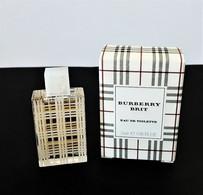 Miniatures De Parfum BURBERRY BRIT   EDT   5 Ml + Boite - Miniatures Modernes (à Partir De 1961)