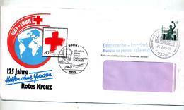 Lettre Flamme Cachet ? Sur Bavaria Illustré Croix Rouge Dunant - [7] République Fédérale