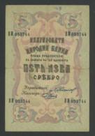 (Bulgarie) 2 Billets 5 LEVA 1910 Et 1916 . - Bulgarie