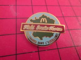 713J Pin's Pins / Beau Et Rare / THEME : McDONALD'S / FIELD SERVICE FRANCE PARTENAIRES DANS L'EXCELLENCE - McDonald's