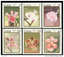 Cuba 3218/3223 ** MNH. 1992 Flores - Nuevos